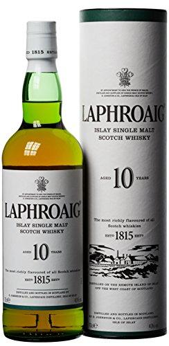 Laphroaig Islay Single Malt Whisky 10