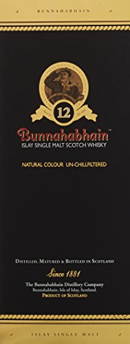 Bunnahabhain 12 Jahre Islay Single Malt Scotch Whisky (1 x 0.7 l) - 4