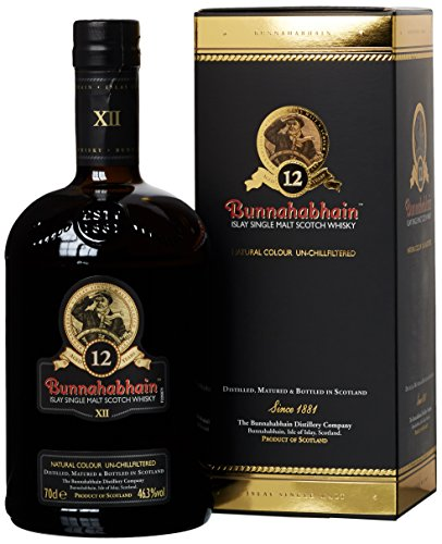 Bunnahabhain 12 Jahre Islay Single Malt Scotch Whisky (1 x 0.7 l) - 1